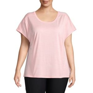 Xersion Short Sleeve Cut Out Back Active Tee